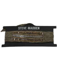 Steve Madden - Beaded Neck Chief Choker Scarf - Lyst