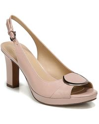 Naturalizer - Ferris Leather Slingback Court Shoes - Lyst