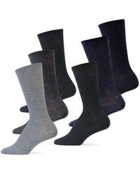 Ralph Lauren - 6-pack Rib Trouser Socks - Lyst