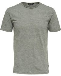 Only & Sons - Short-sleeve Cotton Tee - Lyst