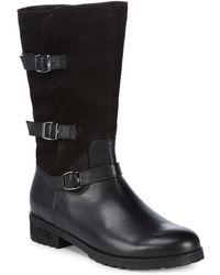 Blondo - Lenie Leather Mid-calf Boots - Lyst