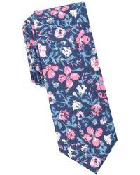 Original Penguin - Sydney Floral Cotton Tie - Lyst