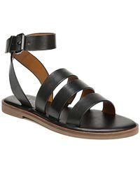 93aef09786b Franco Sarto - Kyson Ankle-strap Leather Sandals - Lyst