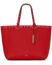 Vince Camuto - Tysa Embellished Leather Tote - Lyst