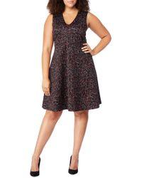 REBEL WILSON X ANGELS - Fit & Flare Dress - Lyst