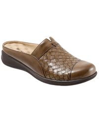 Softwalk - San Marcos Leather Mules - Lyst