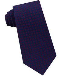Michael Kors - Stitched Neat Silk Tie - Lyst
