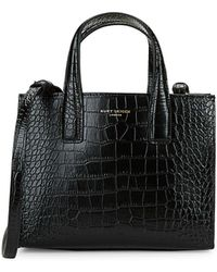 Kurt Geiger - Mini London Embossed Leather Tote - Lyst