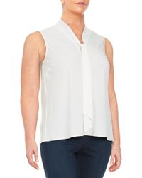Nipon Boutique - Tie-neck Shell - Lyst