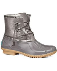 Jack Rogers - Chloe Leather Mid-calf Boots - Lyst