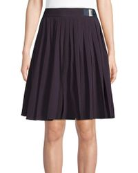 Jones New York - Pleated A-line Skirt - Lyst