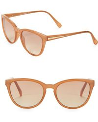 Vince Camuto - 50.8mm Cat Eye Sunglasses - Lyst