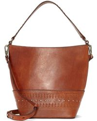 Lucky Brand - Engrave Detail Crossbody Bag - Lyst