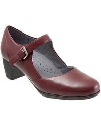 Softwalk - Irish Ii Leather Mary Jane Court Shoes - Lyst