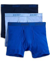 2xist - Three-pack Essential Boxer Cotton Brief - Lyst