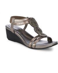 Bandolino - Harman Embellished Sandals - Lyst