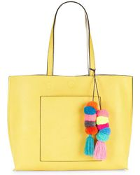 Lord & Taylor - Reversible Mulicolored Tote - Lyst