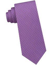 Michael Kors - Silk Geo-print Tie - Lyst