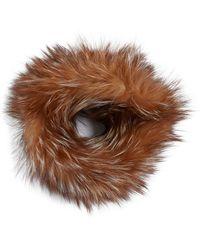 Adrienne Landau - Dyed Fox Fur Headband - Lyst 751beb80d62
