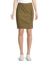 William Rast - Michelle High-waist Lace-up Skirt - Lyst
