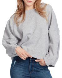 Ella Moss - Sam Dolman-sleeve Cotton Sweater - Lyst