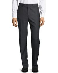 Calvin Klein - Buttoned Trousers - Lyst