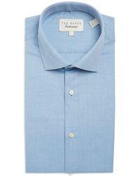 Ted Baker - Textured Dress Shirt - Lyst