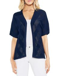Vince Camuto - Amalfi Breeze Dolman-sleeve Cotton Cardigan - Lyst