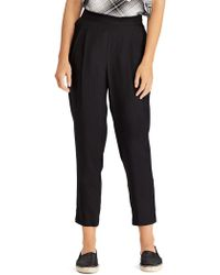 Lauren by Ralph Lauren - Skinny Cropped Trousers - Lyst