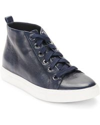 Kenneth Cole - Kaleb Leather Trainers - Lyst