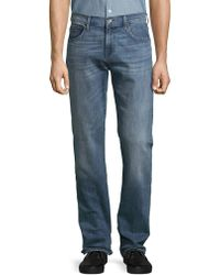 7 For All Mankind - Carsen Easy Straight Leg Jeans - Lyst