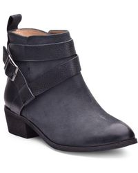 Splendid - Holland Leather Belted Ankle Boots - Lyst