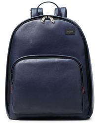 Jack Spade Mason Pebbled Leather Backpack