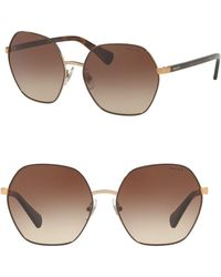 Pink Pony - 60mm Irregular Sunglasses - Lyst