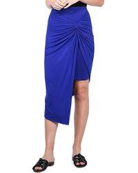 Kensie - Mock Sarong Skirt - Lyst