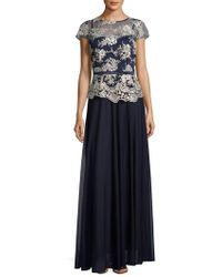 Decode 1.8 - Embroidered Ankle-length Dress - Lyst