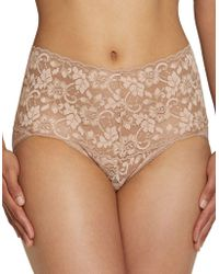 Hanky Panky - Cross-dyed Retro Bikini Briefs - Lyst