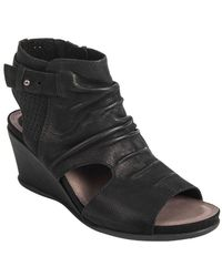 Earth - Sweetpea Leather Wedge Sandals - Lyst