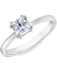Swarovski Attract Crystal Motif Ring - Metallic