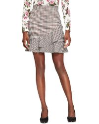 Brooks Brothers - Stretch Ruffle Skirt - Lyst