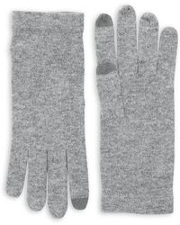 Lord & Taylor - Cashmere-blend Tech Gloves - Lyst
