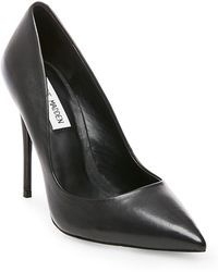 Steve Madden - Daisie Leather Pointed Toe Pumps - Lyst