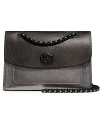 b49128be9f4a COACH - Parker Carryall Leather Crossbody Bag - Lyst