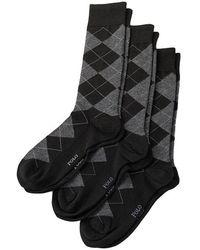 Polo Ralph Lauren - 3 Pack Argyle Socks - Lyst