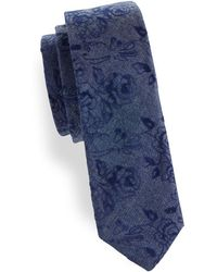 Original Penguin - Polke Floral Cotton Tie - Lyst