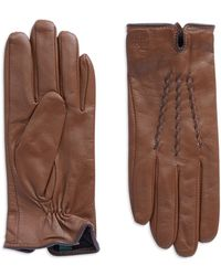 Lauren by Ralph Lauren - Leather Gloves - Lyst