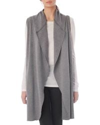 Alternative Apparel - Long Open-front Vest - Lyst