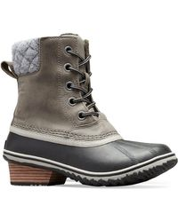 Sorel - Slimpack Ii Waterproof Leather Boots - Lyst