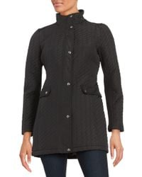 Weatherproof - Plus Ribbon Quilted Jacket - Lyst