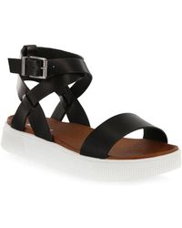 MIA - Calla Faux Leather Ankle-strap Sandals - Lyst